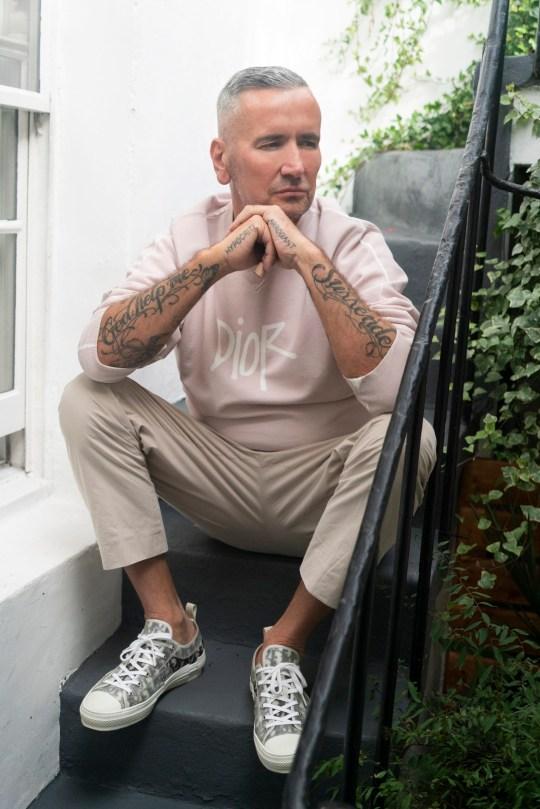 DJ Tony at home