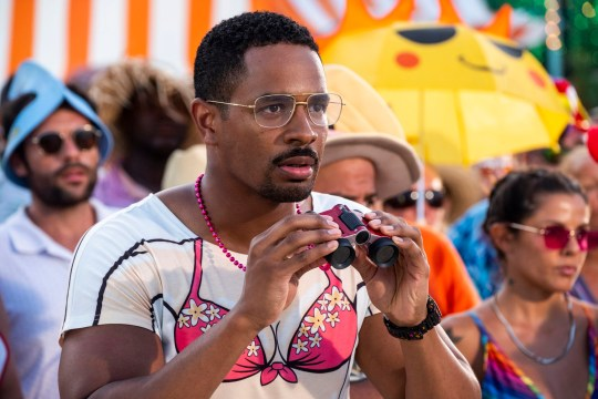 Damon Wayans Jr. as Darlie Bunkle in Barb and Star Go to Vista Del Mar.