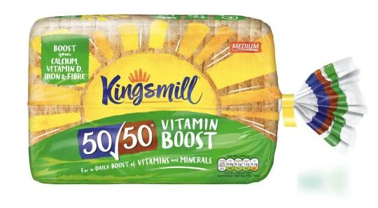 Kingsmill 50/50 Vitamin Boost Loaf