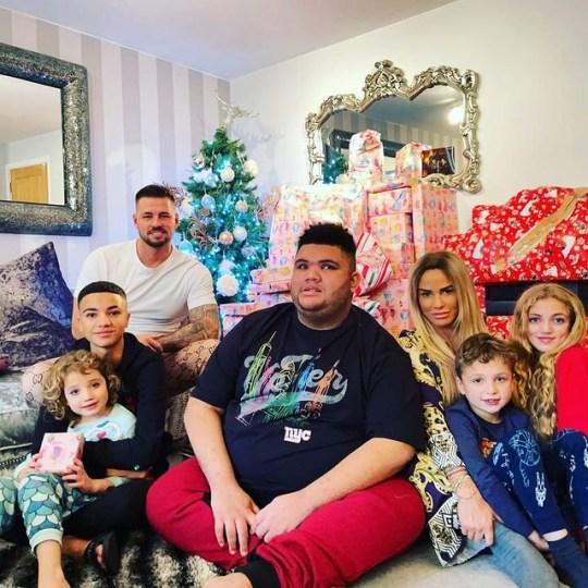 Katie Price, Harvey and the children