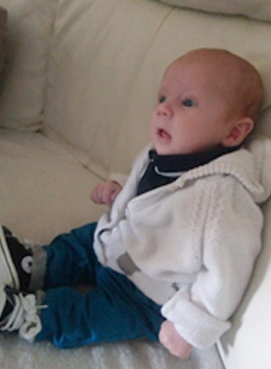 Undated family handout photo issued by Cambridgeshire Police of baby Teddie Mitchell, who was murdered by his mother's partner Kane Mitchell. Teddie was assaulted on November 1 2019 and died 10 days later in hospital. Mitchell, 31, of no fixed address but formerly of St Neots, Cambridgeshire, was found guilty of murder at Cambridge Crown Court. PA Photo. Issue date: Thursday January 14, 2021. See PA story COURTS Baby. Photo credit should read: Cambridgeshire Police/PA Wire NOTE TO EDITORS: This handout photo may only be used in for editorial reporting purposes for the contemporaneous illustration of events, things or the people in the image or facts mentioned in the caption. Reuse of the picture may require further permission from the copyright holder.