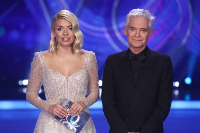 Holly Willoughby and Phillip Schofield on dancing on ice 2020