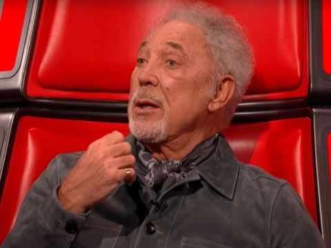 The Voice UK viewers 'in tears' as Tom Jones performs moving rendition of With These Hands