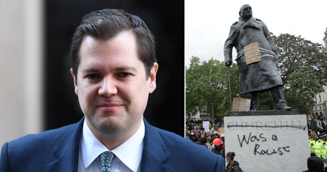 Robert Jenrick says UK should 'safeguard' controversial statues and not try to 'censor or edit' the past
