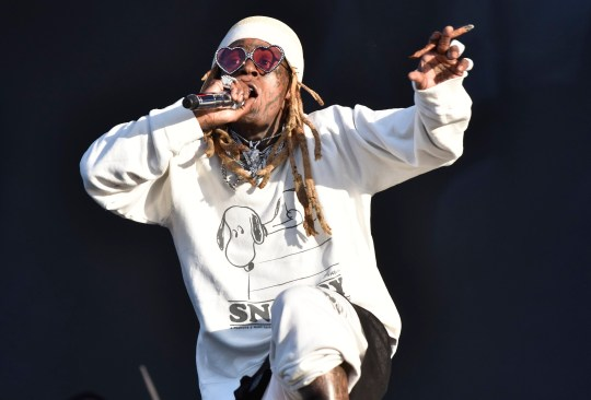 Lil Wayne performs during 2019 Lollapalooza day three at Grant Park on August 03, 2019 in Chicago, Illinois.