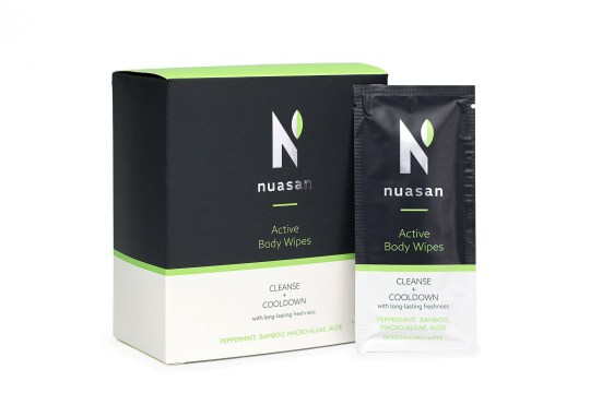 Nuasan Active Body Wipes
