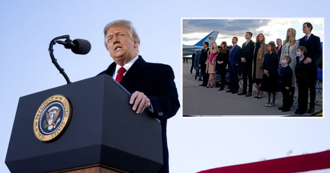 Trump extends secret service protection to 13 family members
