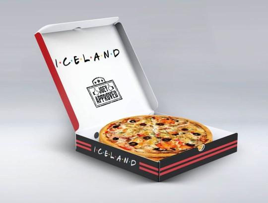 Iceland joey pizza