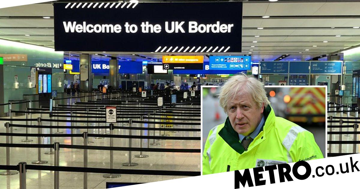 UK bans more countries as Boris faces pressure to shut borders completely - metro