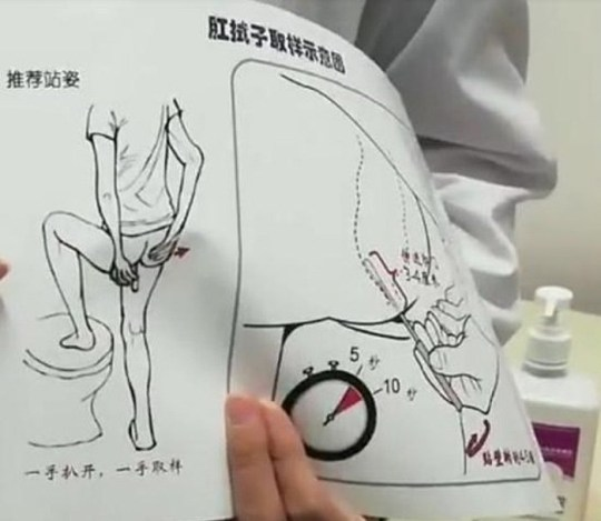 Anal swabs being used to test for Covid in China