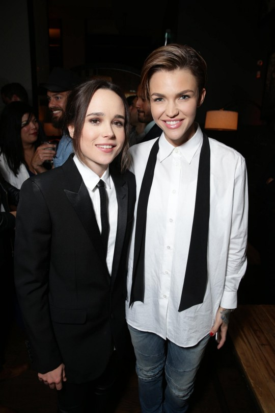 Elliot Page and Ruby Rose