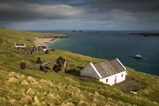 Great Blasket Island landscape