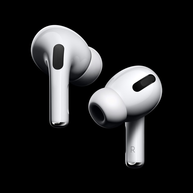 Noise-cancelling Apple AirPods