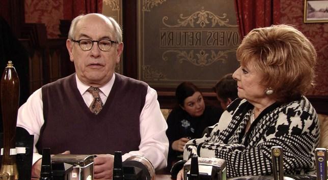 Malcolm Hebden as Norris Cole in Coronation Street
