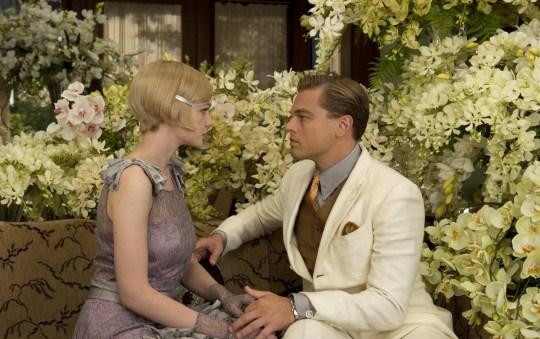 Carey Mulligan and Leonardo Dicaprio inThe Great Gatsby - 2013