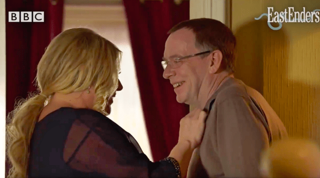 Sharon and Ian in EastEnders