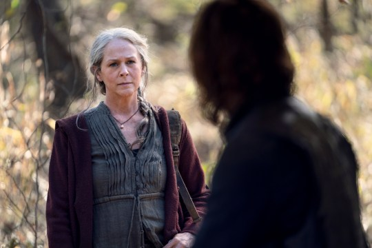 carol the walking dead