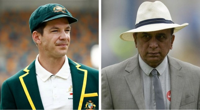 Tim Paine has responded to the scathing criticism from Sunil Gavaskar