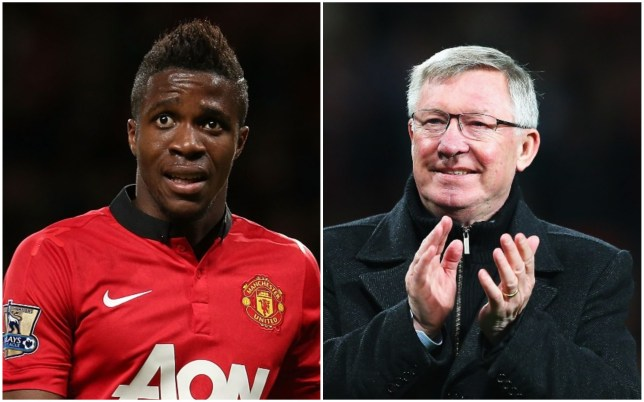 Wilfried Zaha missed out on the chance to play under Sir Alex Ferguson at Manchester United