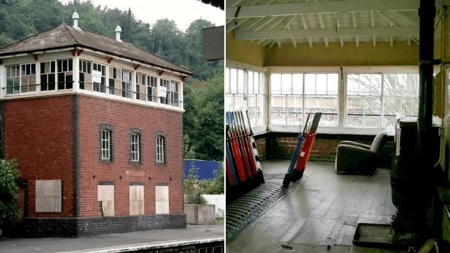victorian railway signal house