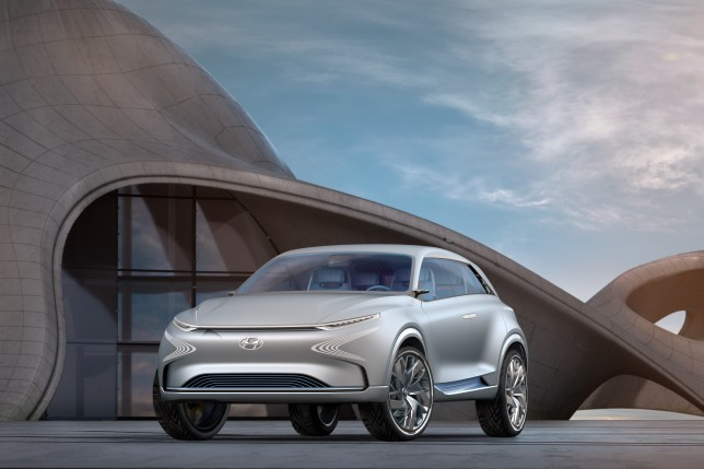 Hyundai has confirmed it is in talks with Apple over future car technology (Hyundai)