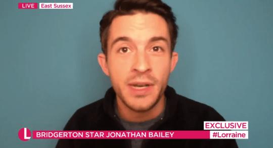 Bridgerton's Jonathan Bailey on Lorraine