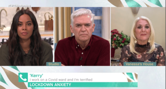 This Morning's Rochelle Humes and Phillip Schofield
