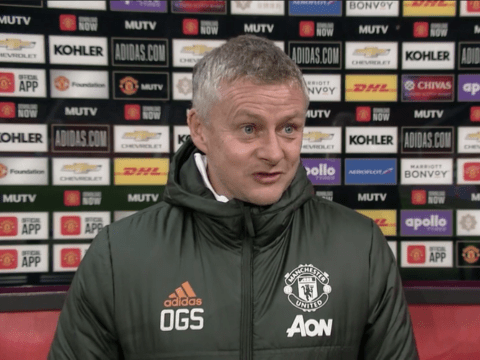 Ole Gunnar Solskjaer speaks out as Manchester United join Liverpool at top of Premier League
