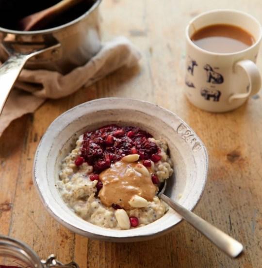 peanut butter jam oats