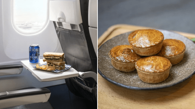 The new BA ecomony in-flight menu