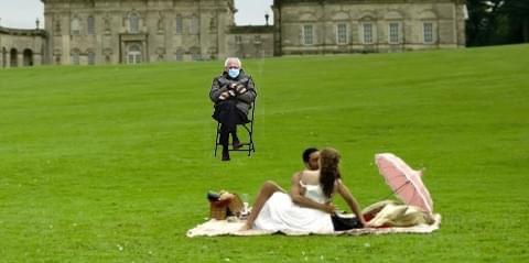 Bridgerton fans join in the fun with Bernie Sanders memes