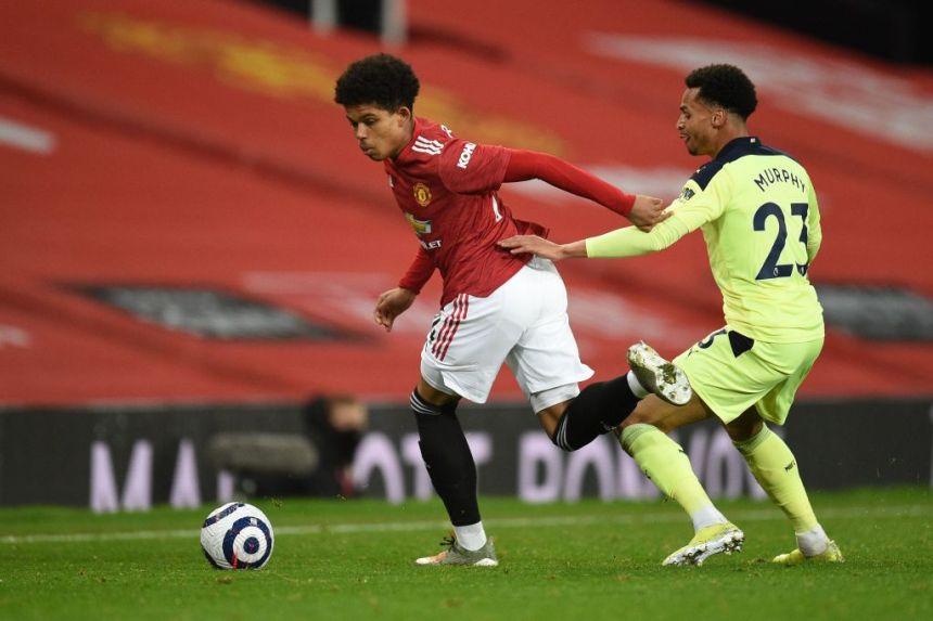 Shola Shoretire Manchester United debut
