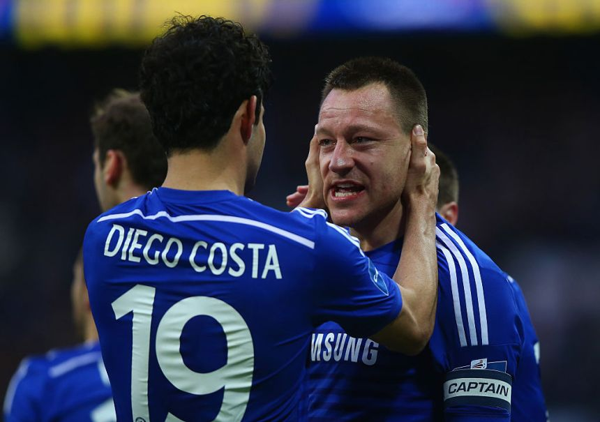 John Terry says he was 'delighted' when Chelsea signed Diego Costa