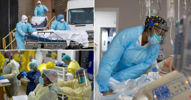 US passes half a million Covid deaths a year after pandemic began
