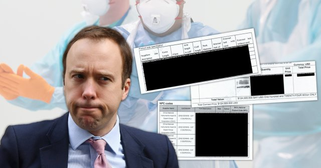 Matt Hancock has been embroiled in a transparency row over the publication of Government contracts for PPE (Picture: File image)
