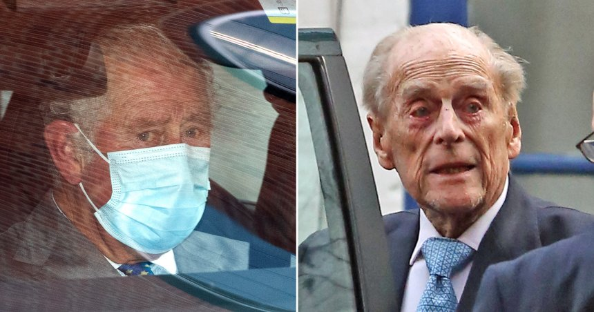 Prince Charles wanted to see Philip in hospital