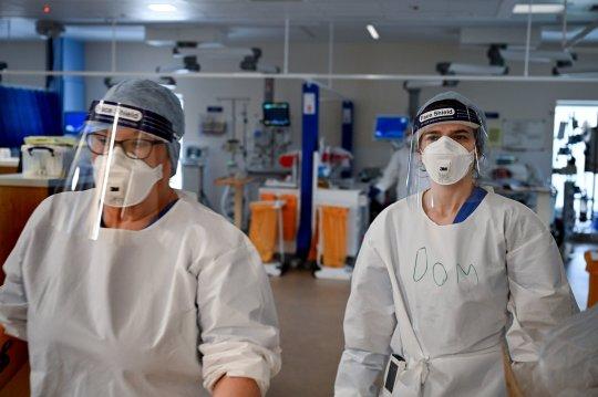 Medics in full PPE