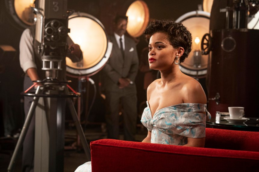 This image released by Hulu shows Andra Day in