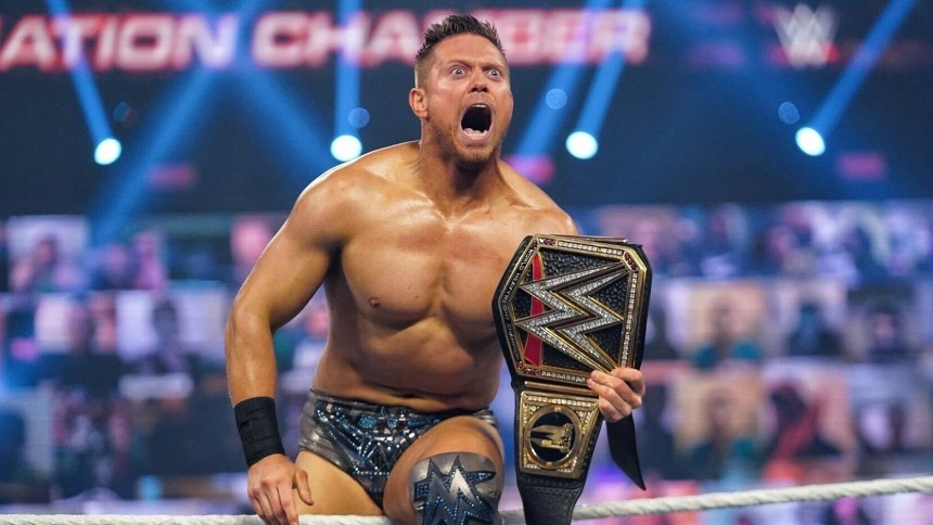 WWE superstar The Miz wins the WWE Championship at Elimination Chamber