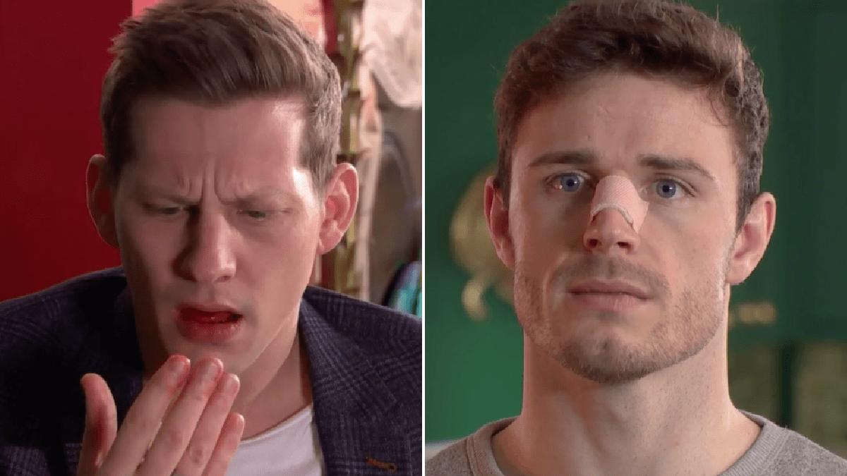 Hollyoaks spoilers: George Kiss makes John Paul McQueen bleed in violent assault