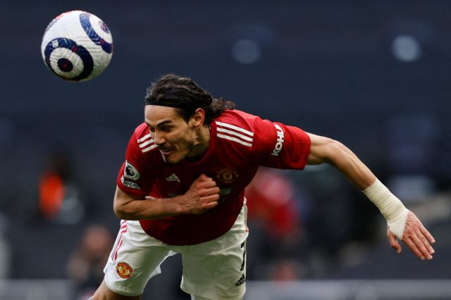 Cavani scored another big goal for United against Spurs