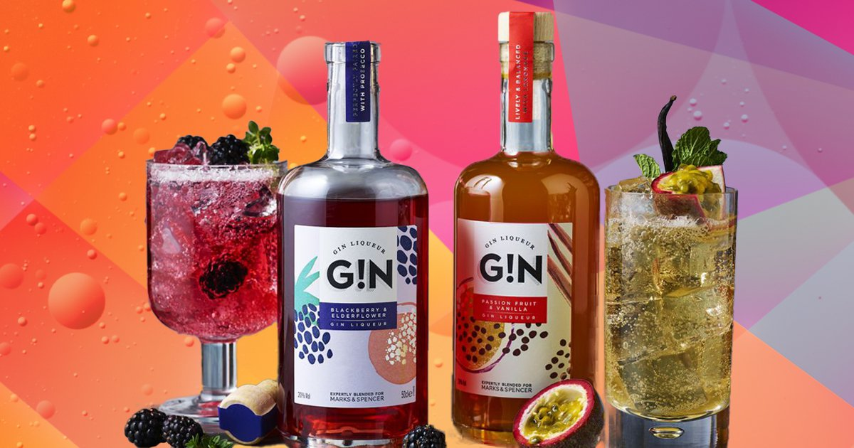 M&S launches new fruity gin liqueurs that are
