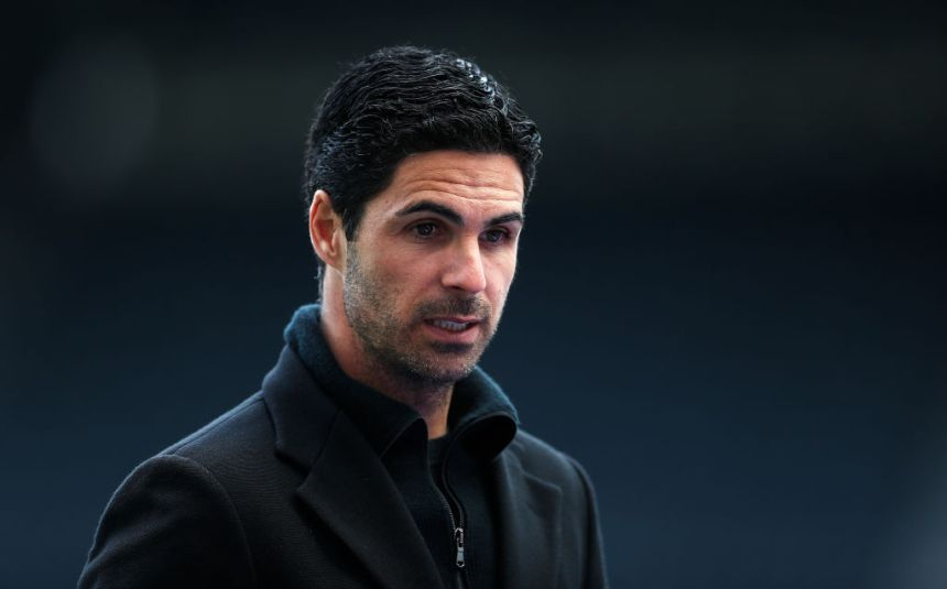Arteta's side need to overturn a 2-1 deficit to win