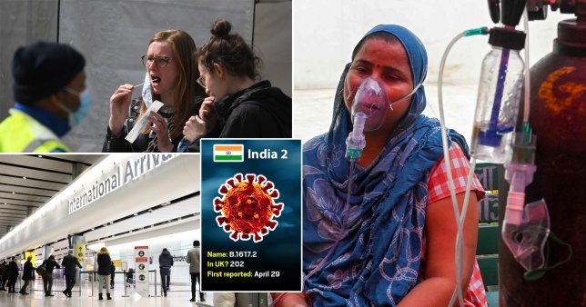 The strain of Covid first detected in India is set to be designated a 'variant of concern'