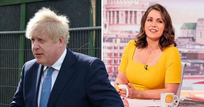 Heated clash on GMB over Boris ducking interviews for four years PA|Rex Features
