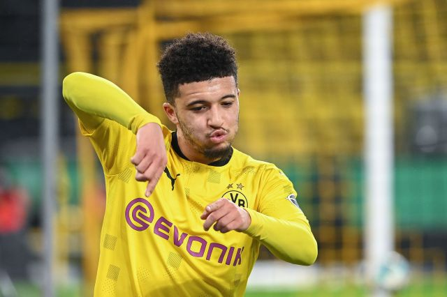 Borussia Dortmund drop Jadon Sancho asking price to £77m as Manchester United close in on transfer