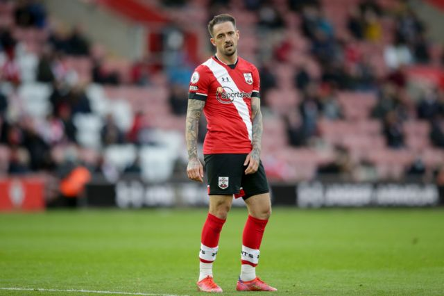 Manchester United transfer target Danny Ings looks on during Southampton's Premier League clash with Leeds