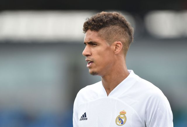 Varane has been linked with a move to Old Trafford