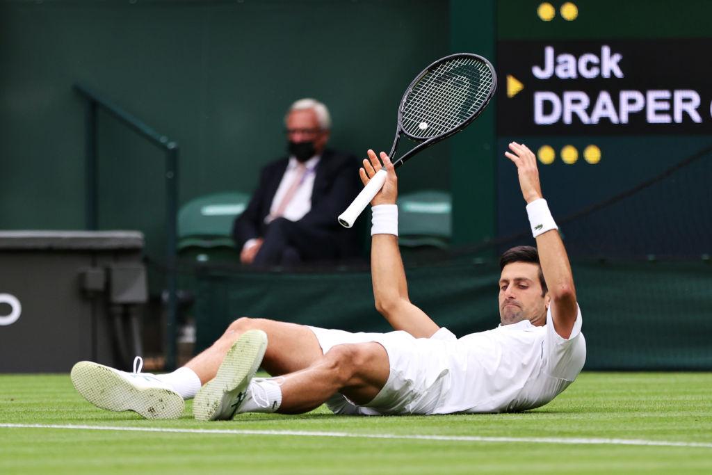 Novak Djokovic slips on Wimbledon title defence but downs Jack Draper    Metro News