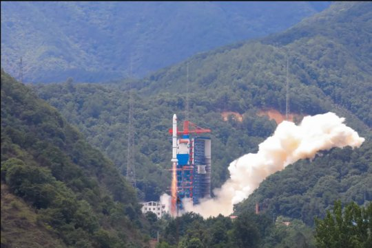 Chinese Long March 2C rocket that just launched